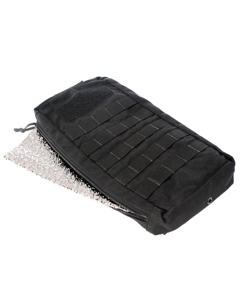 Porta bolsa de hidrataçao Mod - Preto c/ manta termica