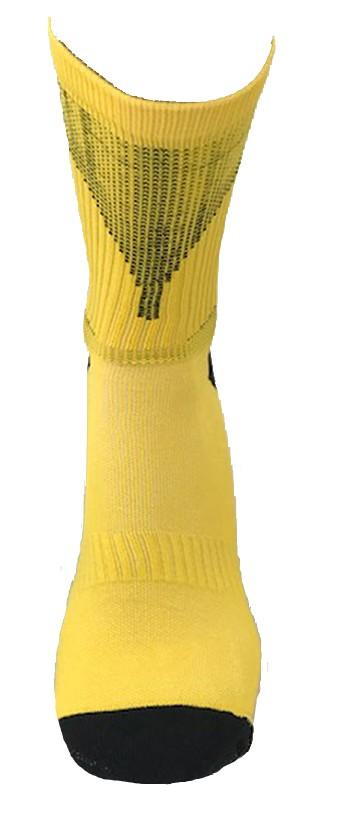 Par de meia Compressão cano médio - FM 77 Amarelo