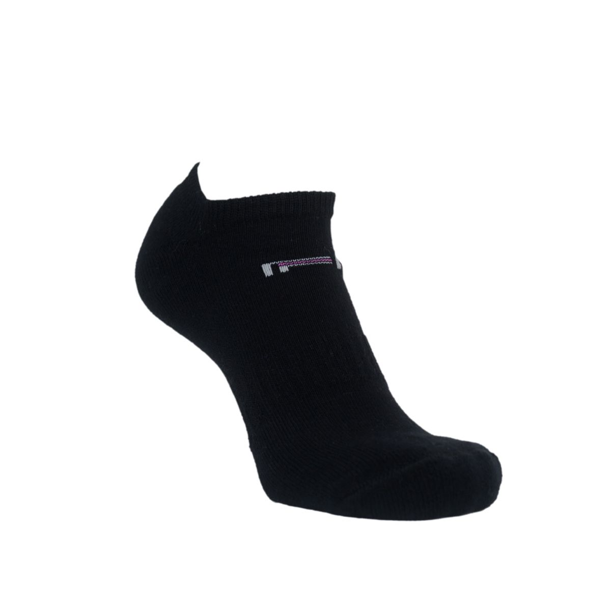 Par de meia sapatilha técnica feminina
