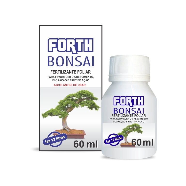 Forth Bonsai fertilizante concentrado 60 ml