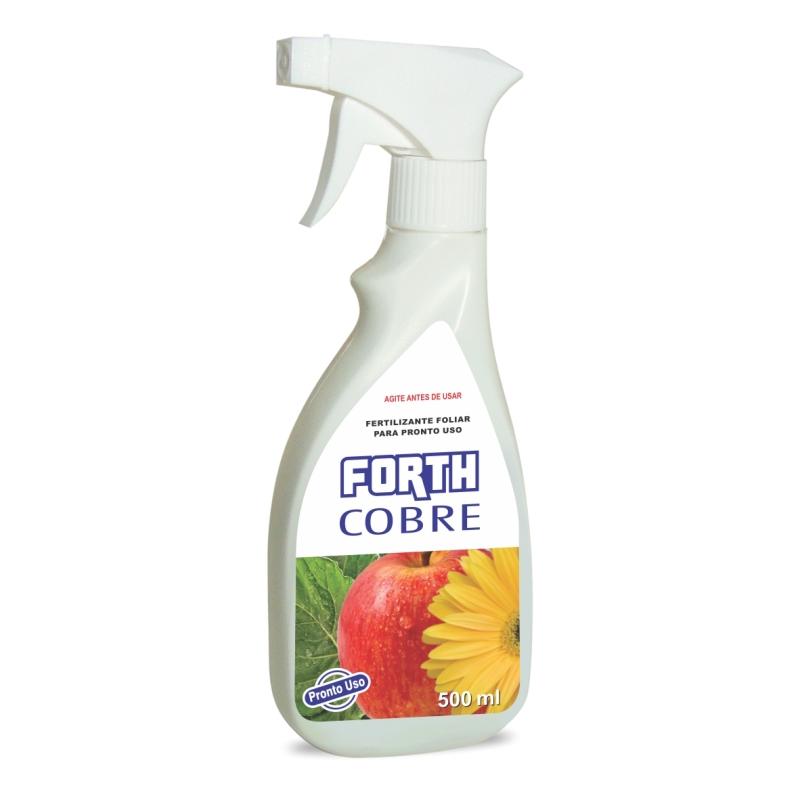 Forth Cobre - fertilizante foliar para pronto uso embalagem 500 ml