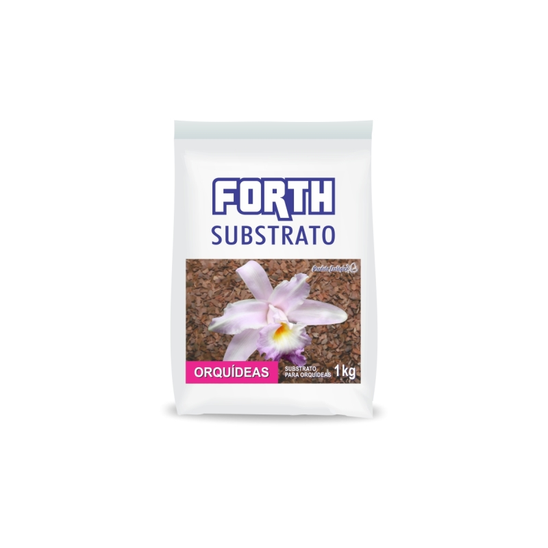 Forth Substrato Orquídeas pacote com 1 kg