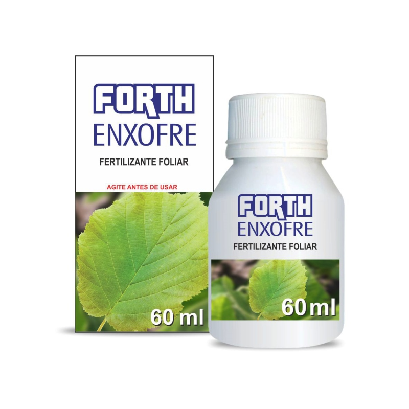 Forth Fertilizante Foliar - Enxofre concentrado 60 ml