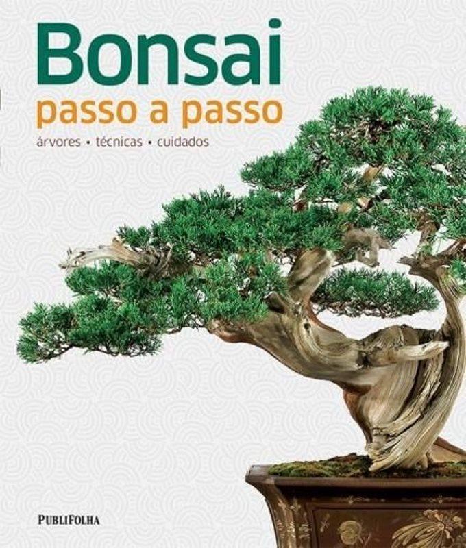 Livro Bonsai passo a passo - árvores - técnicas -cuidados - Peter Warren