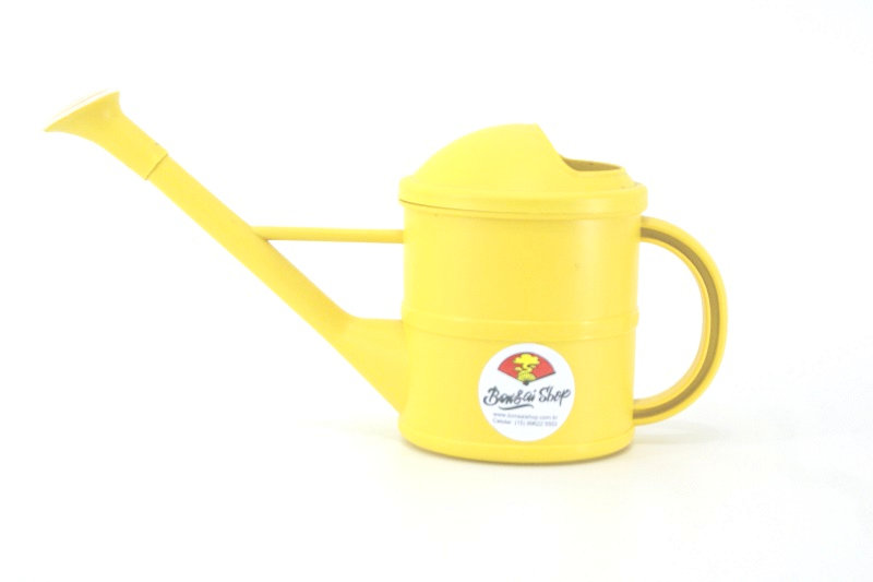 Regador colorido Gardem amarelo 1,5 lt