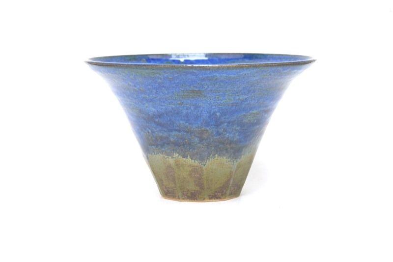 Vaso Ikebana - Sergio Onodera - medidas externas - (AxLxC) 13x23x23 cm