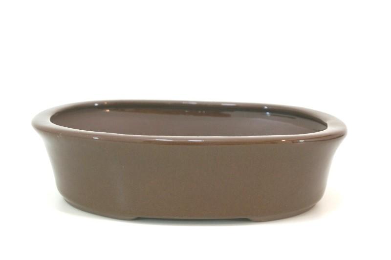 Vaso Oval - Literato - medidas externas - (AxLxC)  6x19x25 cm
