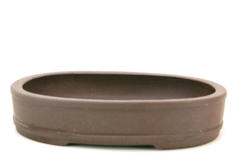 Vaso oval Importado -  medidas externas - (AxLxC) 5x19x24 cm