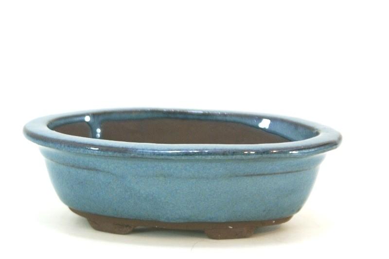 Vaso Oval importado - medidas externas - (AxLxC)  6x11x16 cm