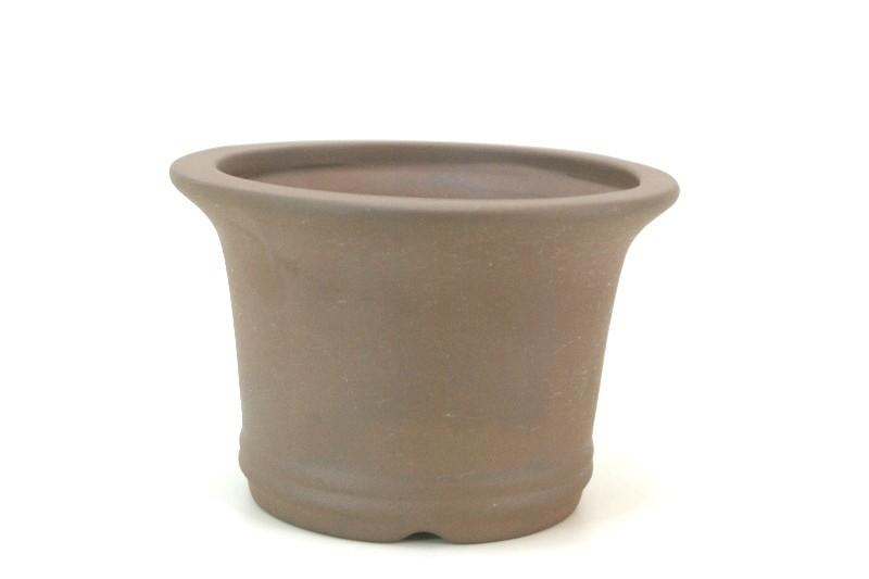 Vaso Oval  - Literato - medidas externas - (AxLxC)  10x14x14 cm