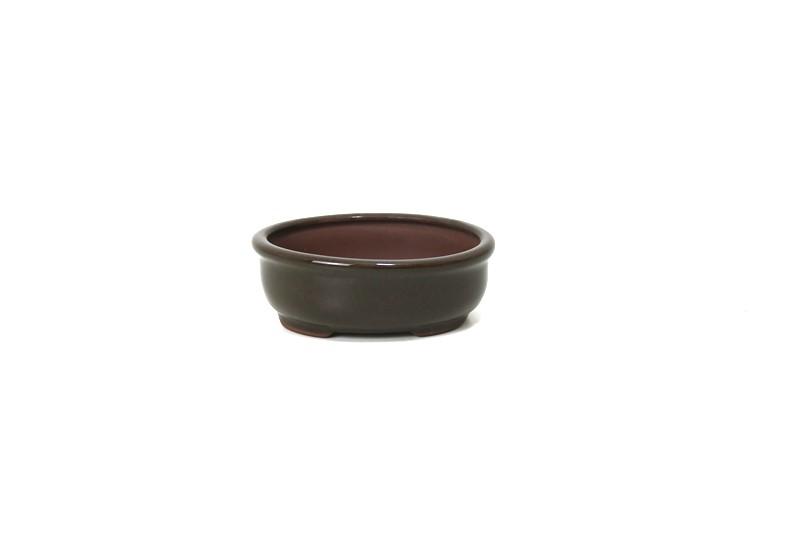 Vaso Oval - Literato - medidas externas - (AxLxC) 4x8x11 cm