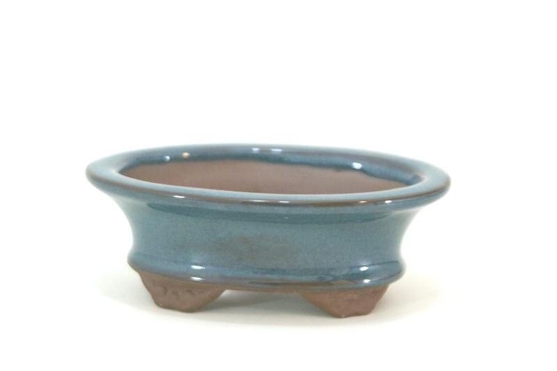 Vaso Oval  - Literato - medidas externas - (AxLxC)  4x9x12 cm