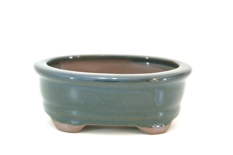 Vaso Oval - Literato - medidas externas - (AxLxC)  5x10x13 cm