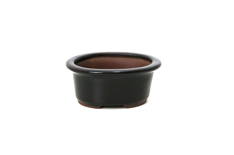 Vaso Oval - Literato - medidas externas - (AxLxC) 6x10x13 cm