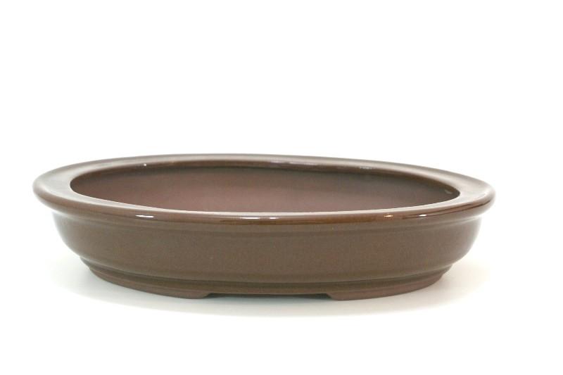 Vaso Oval  - Literato - medidas externas - (AxLxC)  7x24x32 cm