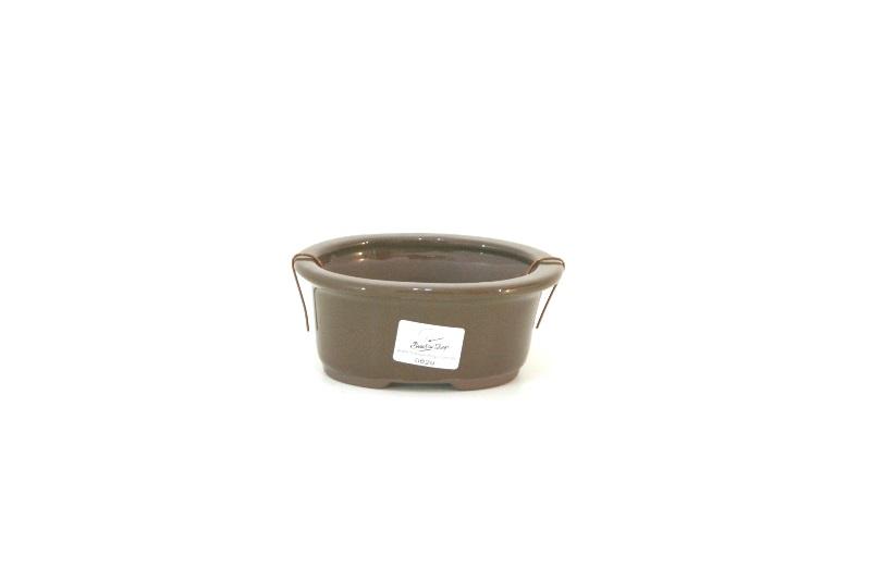Vaso oval nacional  -  medidas externas (AxLxC) - 6x11x14 cm