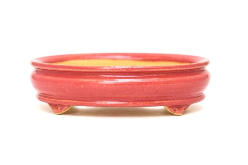 Vaso Oval - Sergio Onodera - medidas externas - (AxLxC) 4,5x12x15 cm