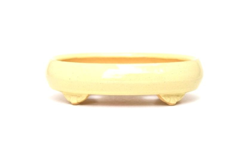 Vaso Oval - Sergio Onodera - medidas externas - (AxLxC) 4x12x17 cm