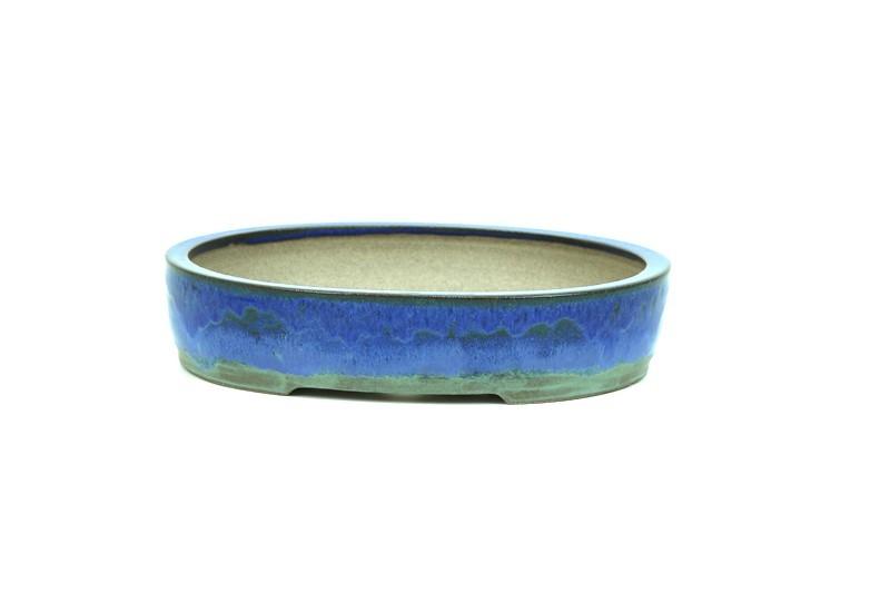 Vaso Oval - Sergio Onodera - medidas externas - (AxLxC) 6x27x20 cm