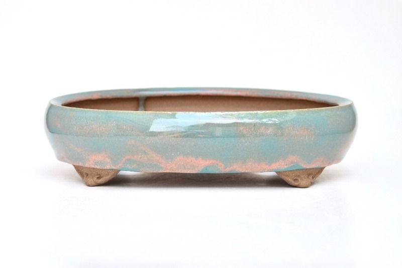 Vaso Oval - Sergio Onodera - medidas externas - (AxLxC) 7x19x27 cm