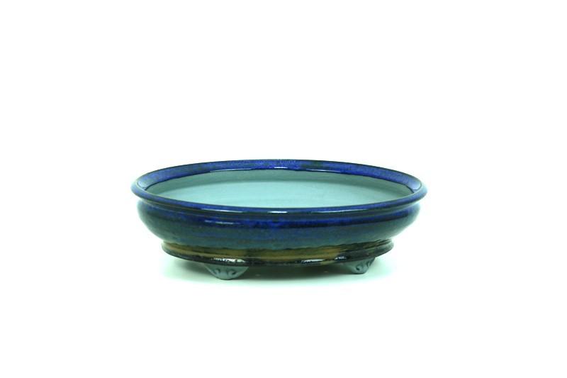 Vaso Oval - Sergio Onodera - medidas externas - (AxLxC) 7x25x23 cm