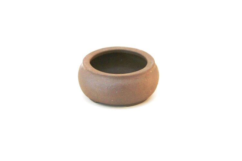 Vaso redondo Jorge Ribas  - medidas externas - (AxLxC) 4x8x8 cm