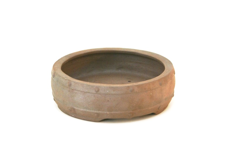 Vaso redondo  jorge Ribas  - medidas externas - (AxLxC) 5x18x18 cm