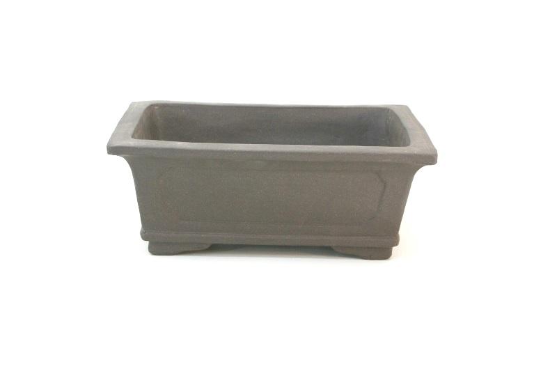 Vaso retangular Importado - Chinês - medidas externas - (AxLxC) 14x27x37 cm