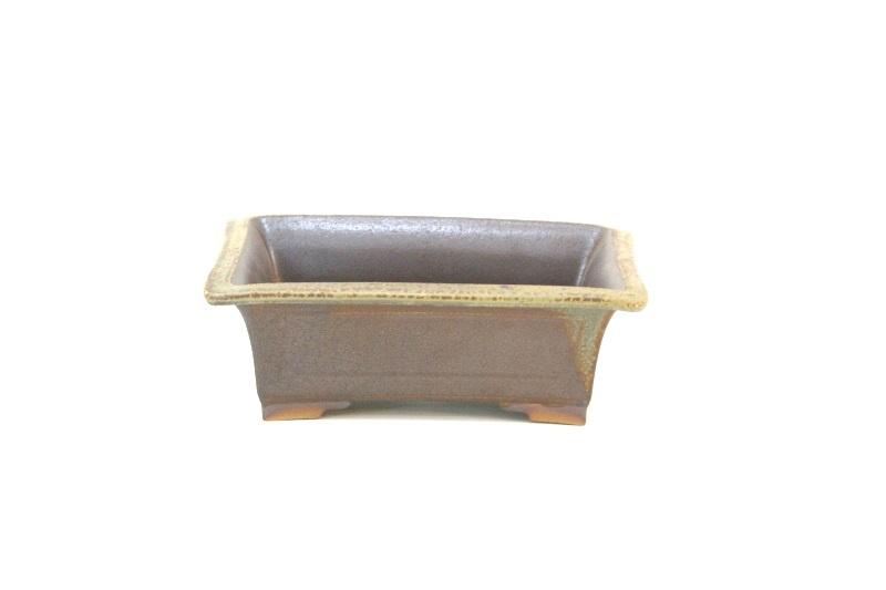 Vaso retangular Izume -  medidas externas (AxLxC) - 8x16x22 cm