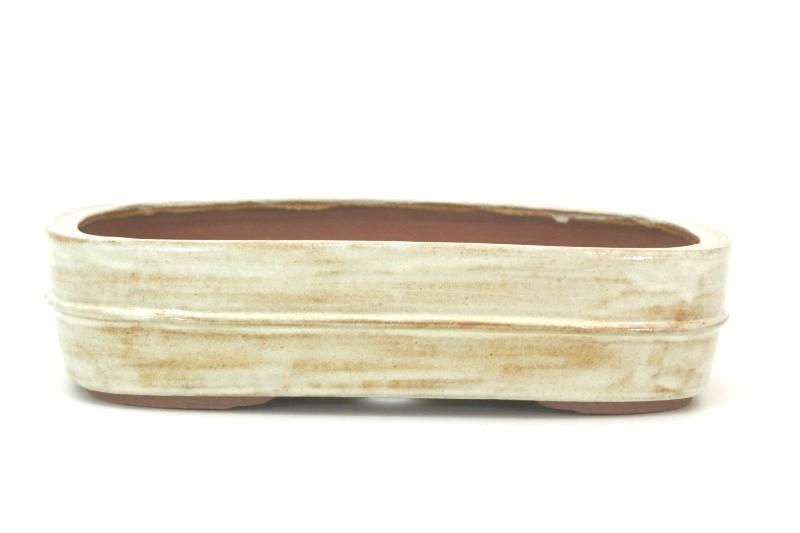 Vaso Retangular - Sergio Onodera - medidas externas - (AxLxC) 9x24x35 cm
