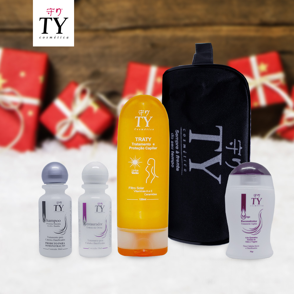 Kit 1 - Feminino - Traty + Shampoo...