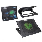 Base Usb Notebook Cooler 15cm Silencioso 5 Niveis Altura Dex