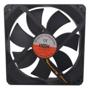 Cooler Fan Para Gabinete 120x120x25mm Dex DX-12C Preto