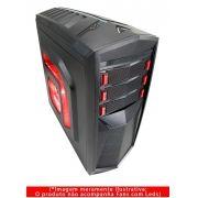 Gabinete G-Fire  HTT018B06S Gamer Preto/Vermelho 3 baias/1x USB 3.0 2x USB 2.0