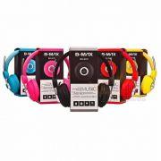 Headphone P2 Com Fio De Nylon B-Max 2670 (Varias Cores)
