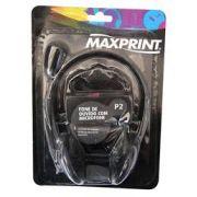 Headset Maxprint com Microfone 601144-4