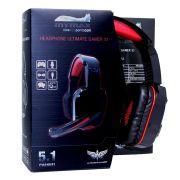 HEADSET MYMAX ULTIMATE GAMER 5.1 PRETO/VERMELHO, MHP-SP-X9/BKRD