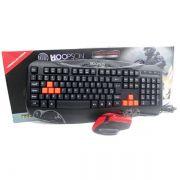 Kit Teclado e Mouse Gamer usb Hoopson Tpc-038