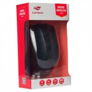 Mouse C3 Tech M-w20 Sem Fio Rc Nano 1000 Dpi Vermelho