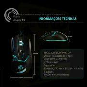 Mouse Com Fio B-max X8 Com Led