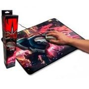 MOUSE PAD KNUP KP-S07 GAMER 320x420x3mm BORRACHA