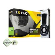 Nvidia Geforce GTX 1080 8GB 256-Bit GDDR5X 10.000MHz 1607MHz 2560 CUDA CORES ZT-P10800A-10P - DVI HDMI DP