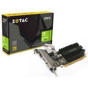 Placa de vídeo NVidia Geforce GT 710 1GB 64-Bit GDDR3 Zotac ZT-71301-20L - 192CUDAs