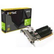 Placa de vídeo NVidia Geforce GT 710 2GB 64-Bit 1600MHz GDDR3 Zotac ZT-71301-20L - 192CUDAs