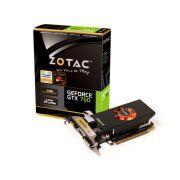 Placa de vídeo NVidia Geforce GTX 750 1GB 128-Bit GDDR5 Zotac - 5000MHz - GPU 1033MHz - 512 CUDA Cores - Low Profile - HDMI/DVI/VGA