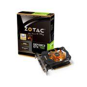 Placa de Vídeo Nvidia Geforce GTX 750 2GB 128-bit GDDR5 Zotac ZT-70704-10M