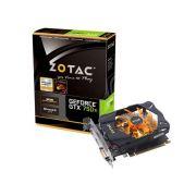 Placa de Vídeo NVidia Geforce GTX 750TI 2GB 128-Bit GDDR5 Zotac - 5400MHz - 1033MHz GPU - 640 Cuda Cores