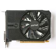 Placa de Vídeo NVidia GTX 1050 2GB 128-Bit 7000MHz  GDDR5 1354MHz 640 CUDA Cores Zotac ZT-P10500A-10L DVI/HDMI/DP