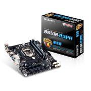 Placa Mãe Gigabyte LGA1150 B85M-D3PH MATX DDR3 1600MHz 32GB BOX