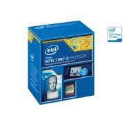 Processador Intel Core I3-4170 3.7GHz 3MB Cache BX80646I34170 LGA1150 Com Intel� HD Graphics 4400